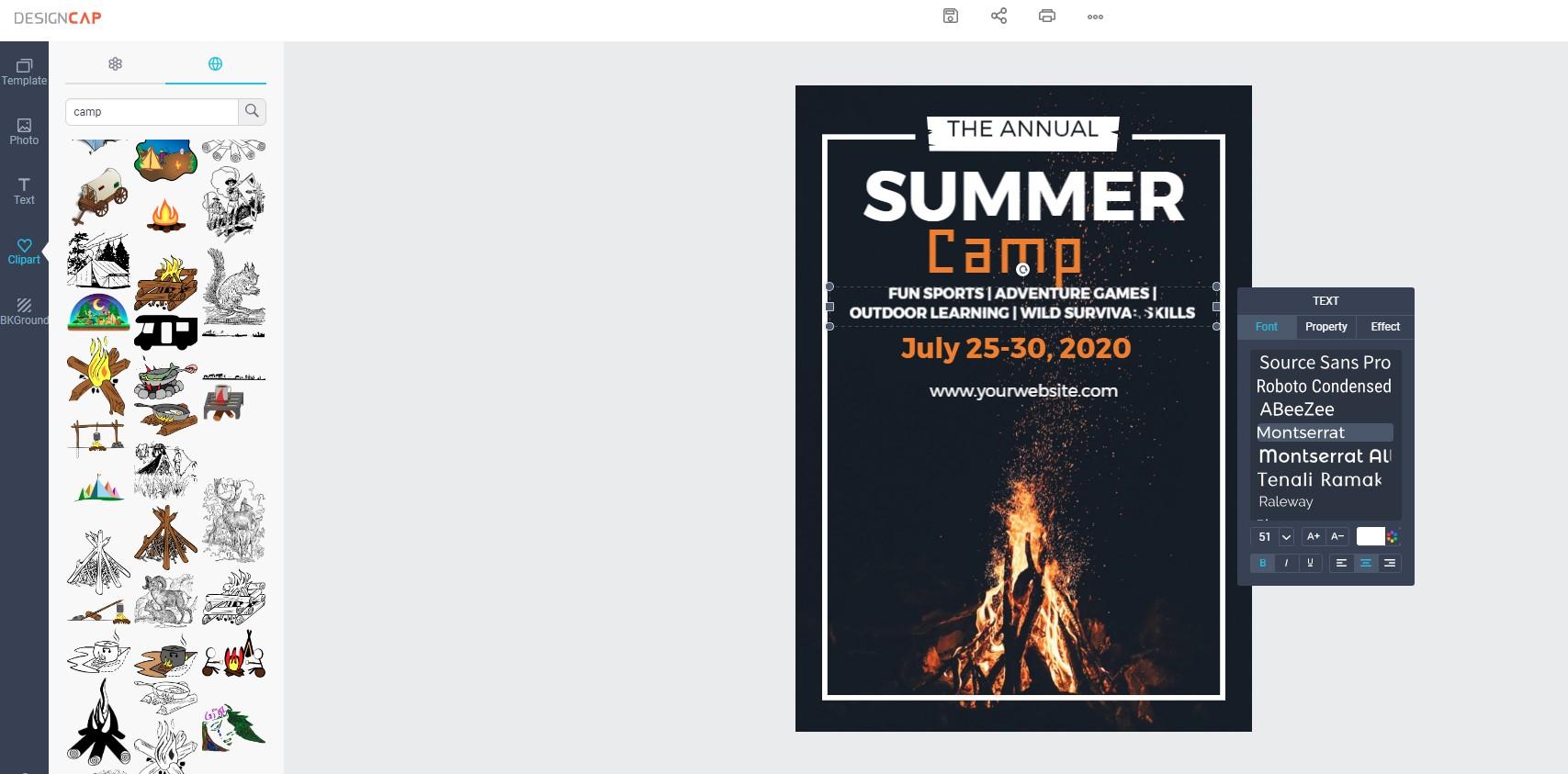 DesignCap Review: Make a Free Poster Online
