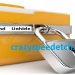 how to hide files folders windows 7 /8 /10/ how to lock