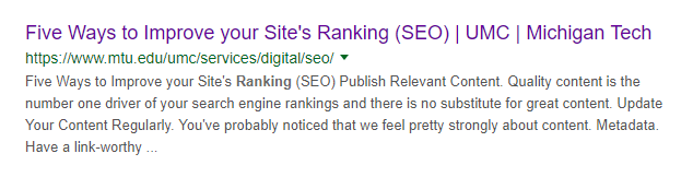 Top 7 Ranking Factors in 2019 Which You Shouldn't Ignore